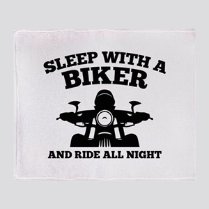 Sleep With A Biker And Ride All Night Stadium Blan