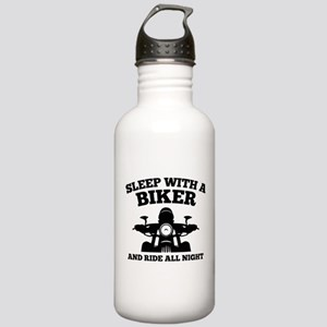 Sleep With A Biker And Ride All Night Stainless Wa