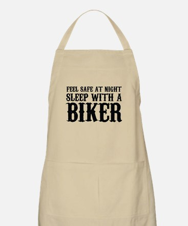 Sleep With A Biker And Ride All Night Apron