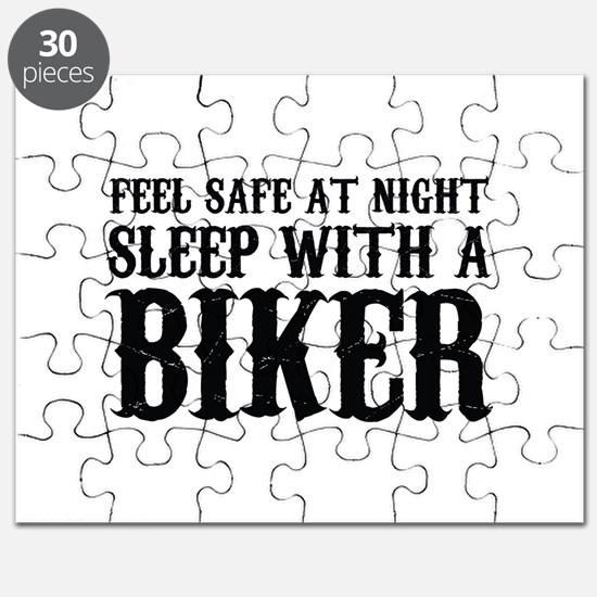Sleep With A Biker And Ride All Night Puzzle