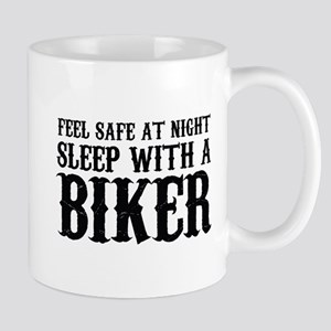 Sleep With A Biker And Ride All Night Mug