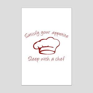 Sleep With A Chef Mini Poster Print