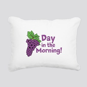 Grape Day Rectangular Canvas Pillow