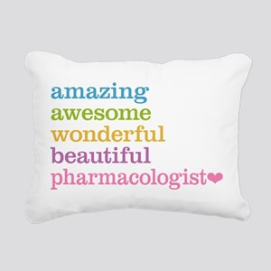 Pharmacologist Rectangular Canvas Pillow