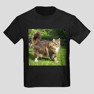 norwegian forest cat full tabby T-Shirt