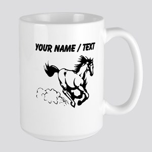 Custom Horse Galloping Mugs
