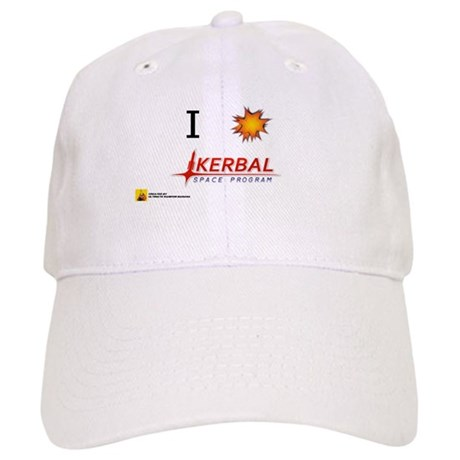 00869549fc9 I Love KSP Baseball Cap by URBMerch