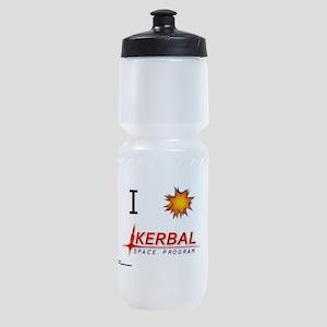 I Love KSP Sports Bottle