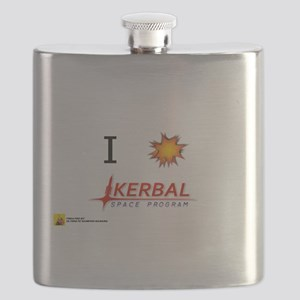 I Love KSP Flask