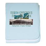 North Cascades baby blanket
