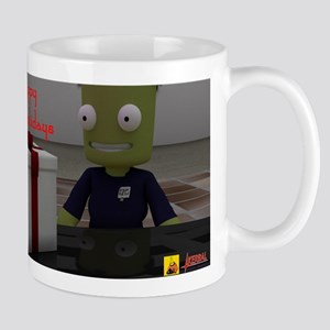 Kerbal Christmas Gift Mugs