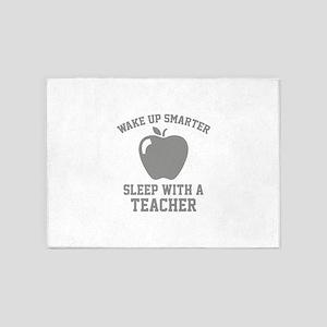 Wake Up Smarter 5'x7'Area Rug