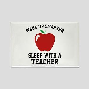 Wake Up Smarter Rectangle Magnet