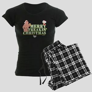 Merry Freakin' Christmas Women's Dark Pajamas