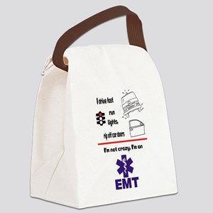 Not Crazy EMT Canvas Lunch Bag