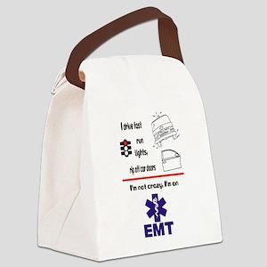 Not Crazy EMT Canvas Lunch Bag