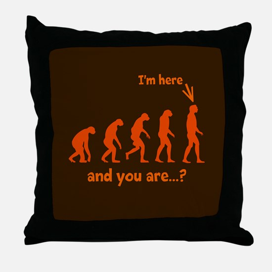 How Evolved? Throw Pillow