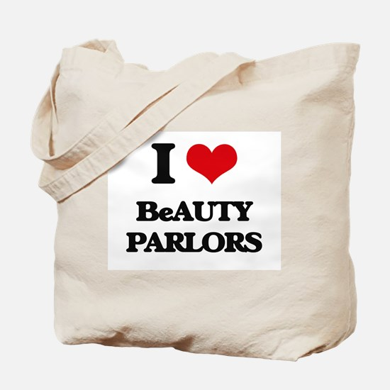 I Love Beauty Parlors Tote Bag