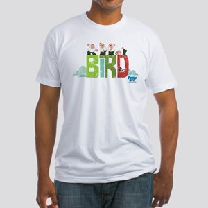 Family Guy Bird is the Word 2 Fitted T-Shirt