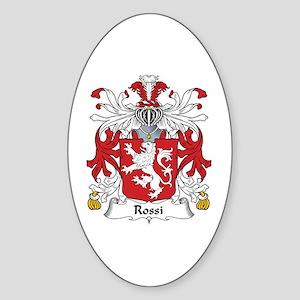 Rossi Oval Sticker