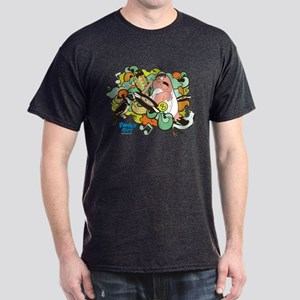Family Guy Bird Attack Dark T-Shirt
