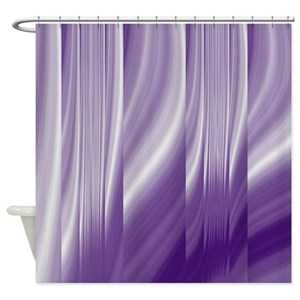 Purple Shower Curtains