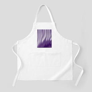 abstract purple grey Apron
