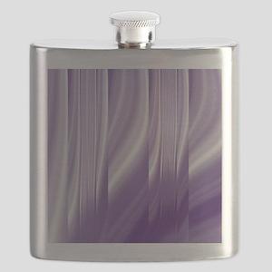 abstract purple grey Flask