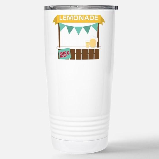 Lemonade Stand Travel Mug
