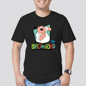 Family Guy Bird is the Men's Fitted T-Shirt (dark)