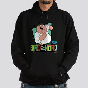 Family Guy Bird is the Word Hoodie (dark)