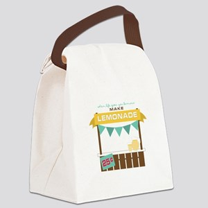 Fresh Lemonade Canvas Lunch Bag