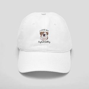 I Love My English Bulldog Cap