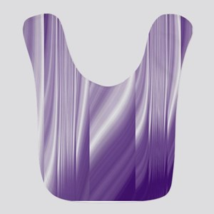 abstract purple grey Bib