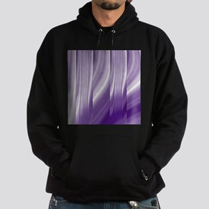 abstract purple grey Hoodie (dark)