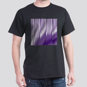 abstract purple grey T-Shirt
