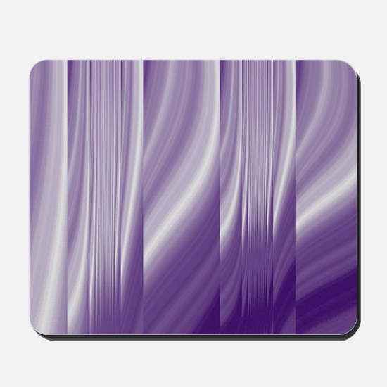 abstract purple grey Mousepad