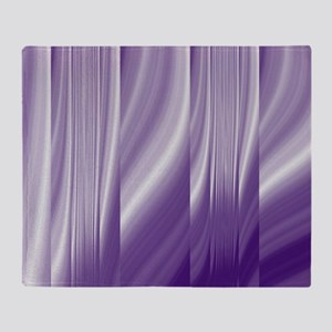 abstract purple grey Throw Blanket