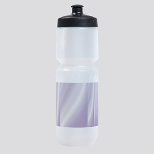 abstract purple grey Sports Bottle