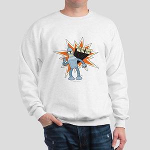 Futurama Bender Shiny Sweatshirt