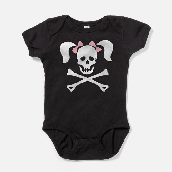 hallow63dark.png Baby Bodysuit