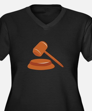 Gavel Plus Size T-Shirt