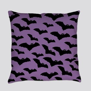 Spooky Halloween Bat Pattern Master Pillow