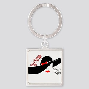 VLO My Fair Lady Square Keychain