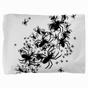 spiders_bl Pillow Sham