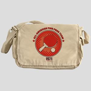 Forrest Gump Ping Pong Messenger Bag