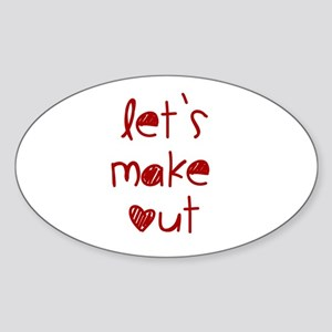 Let's Make Out Sticker