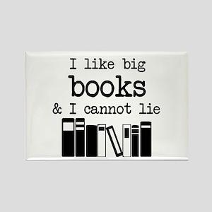 I like Big Books Magnets