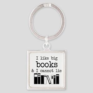 I like Big Books Keychains