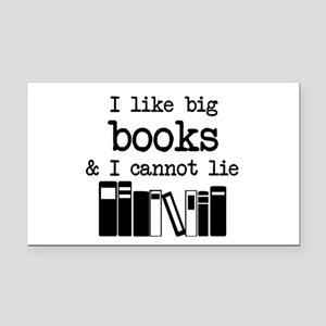 I like Big Books Rectangle Car Magnet
